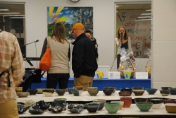 Pottery Bowls & the WVMS Guitar Club