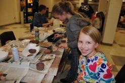 Decorating Pinch Pots