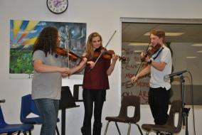 WVHS student musicians