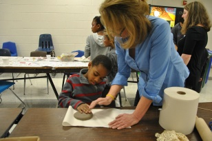 Kids Pottery Activity